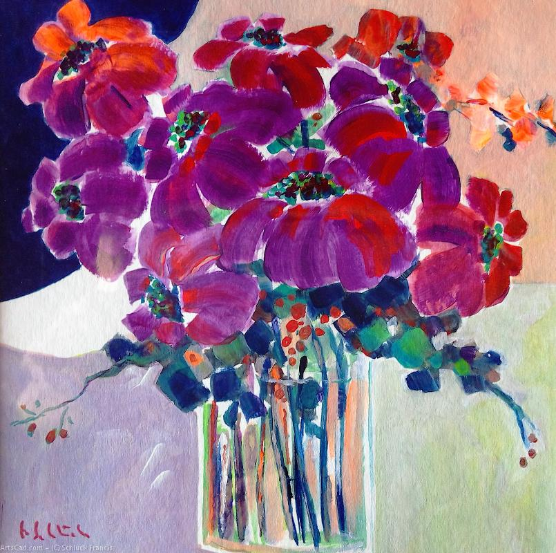 Artwork >> Schluck Francis >> flower show 46