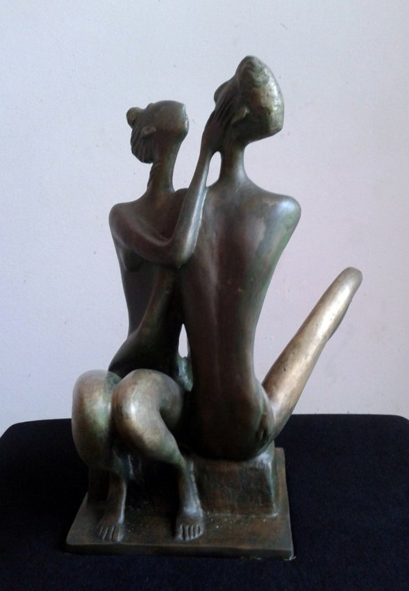 Artwork >> Ahmedov Zakir >> my love brass 2013 year12x10x8in 9000$