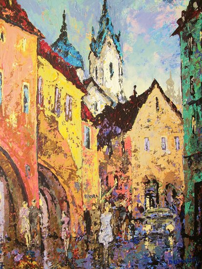Artwork >> Vladimir Domnicev >> Old Prague