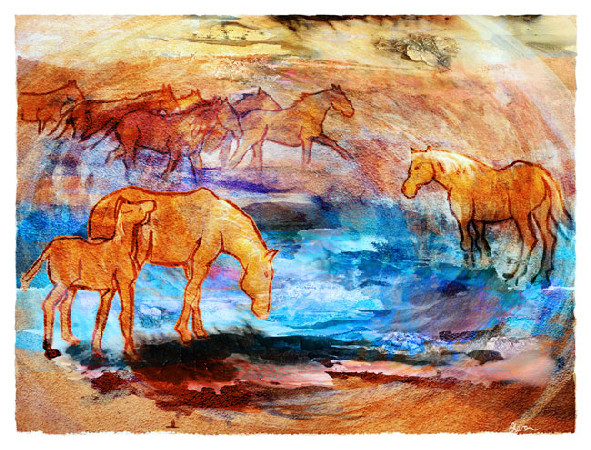 Artwork >> Corinne Baron >> Gallop