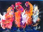 Inspirational Paintings - Hen-s Party