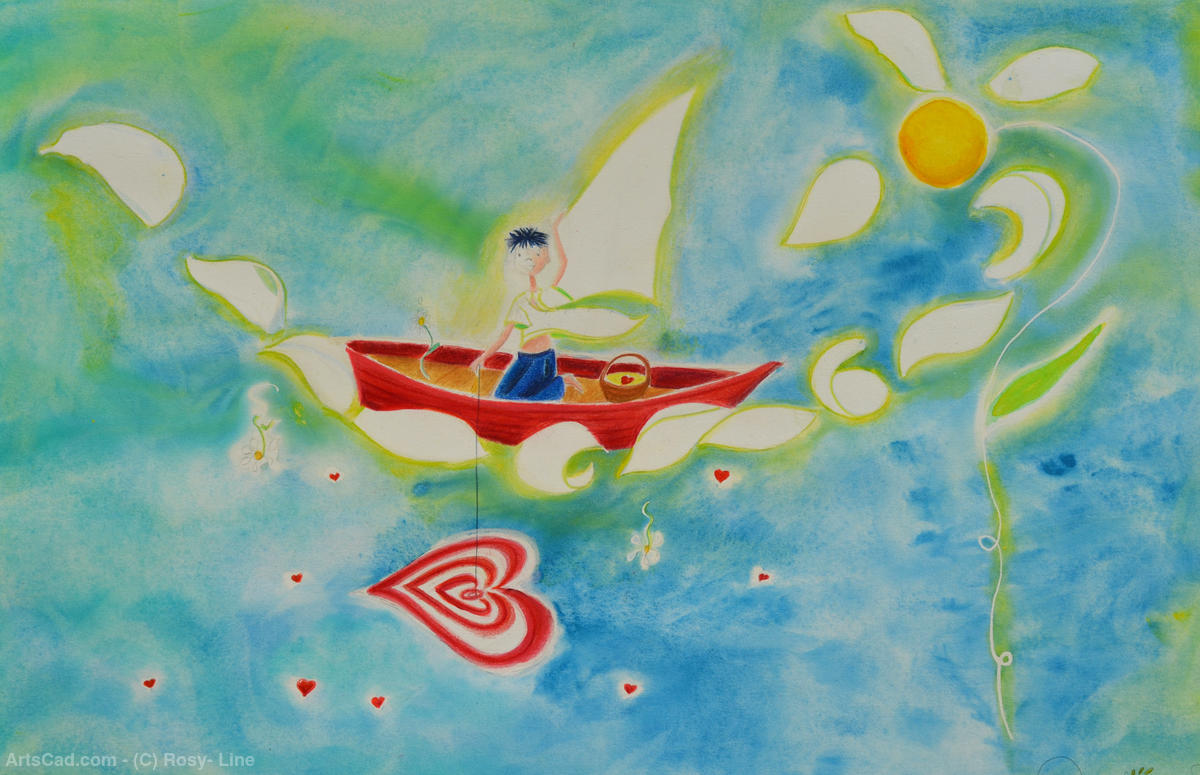 Artwork >> Rosy- Line >> The small fisherman love
