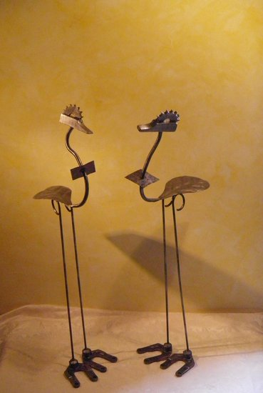 Artwork >> Cdom Sculpture >> Birds Sprockets