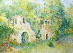 Jacques Fontan - Ruins in the Dordogne