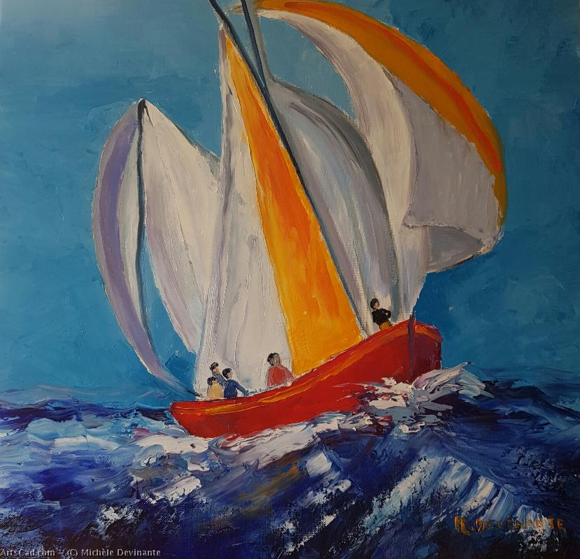 Artwork >> Michèle Devinante >> The boat