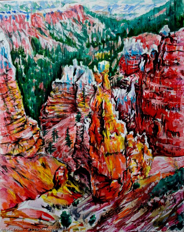 Artwork >> Victor Ovsyannikov >> bryce canyon . 1