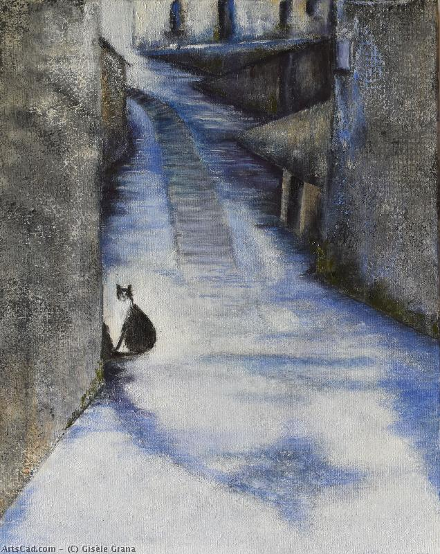 Artwork >> Gisèle Grana >> the cat
