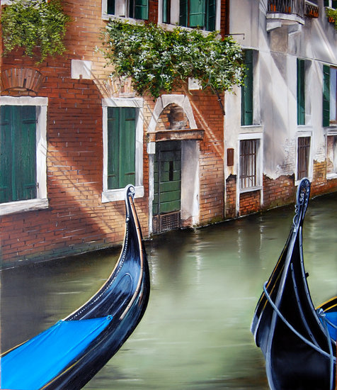 Artwork >> Marie-Claire Houmeau >> both Gondolas