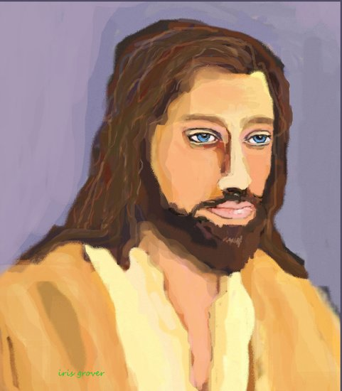 Artwork >> Iris Piraino >> jesus christ