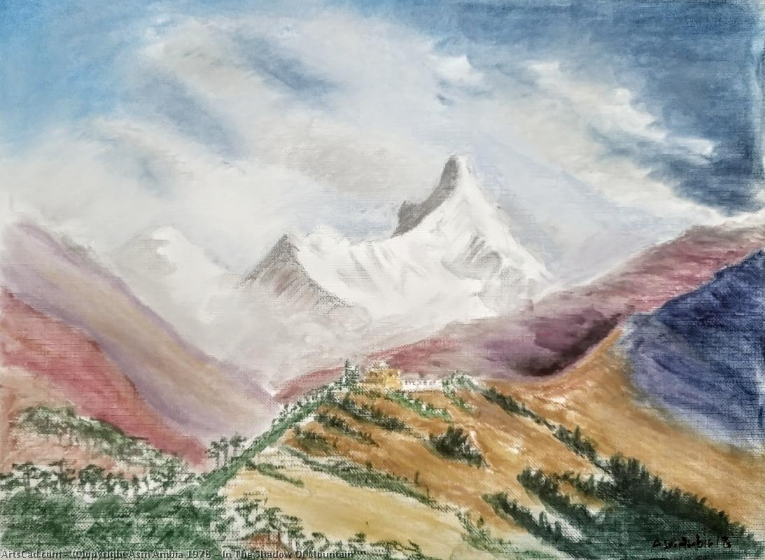 Artwork >> Asm Ambia 1978 >> In The Shadow Of Mountain