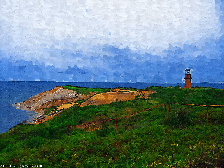Artwork >> Michael Groff >> Cape Cod Lighthouse