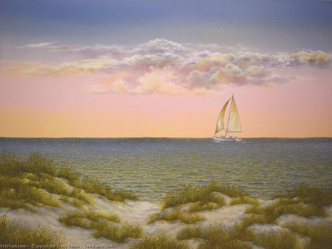 Artwork >> Jerry Sauls >> Sand and Sails