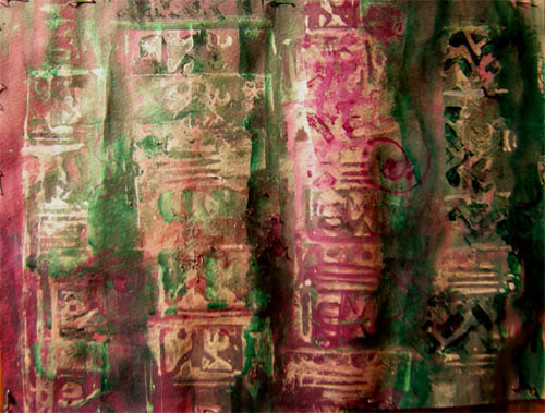 Artwork >> Watercolor Plus >> Mayan Stella
