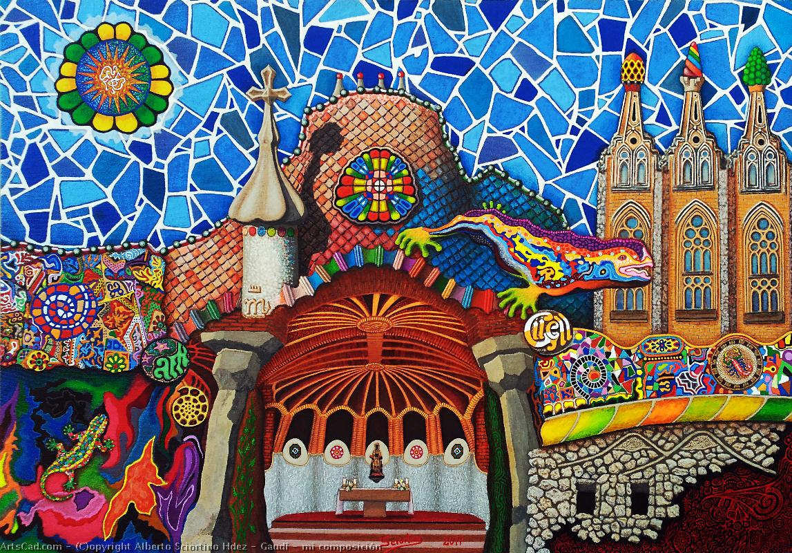 Artwork >> Alberto Sciortino Hdez >> Gaudi -   my  composition