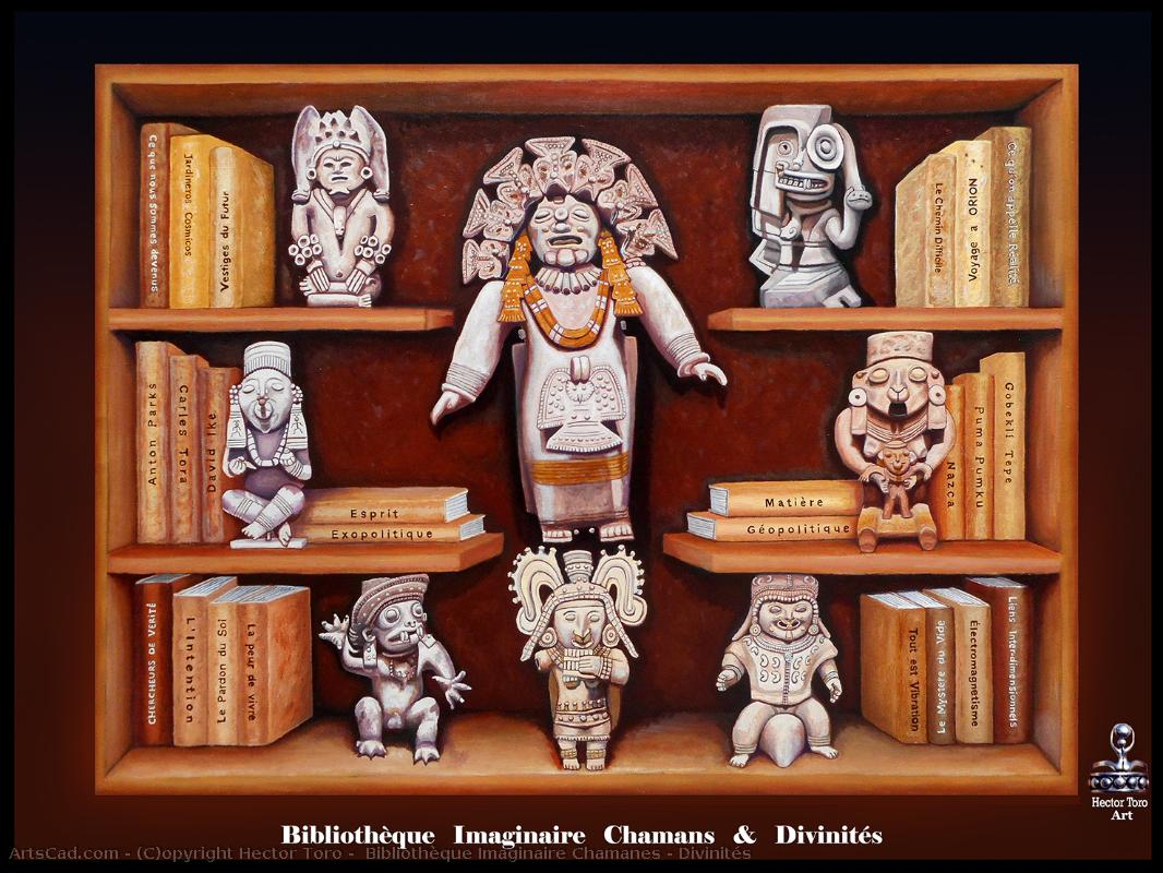 Artwork >> Hector Toro >> Library imaginary chamanes & Deities