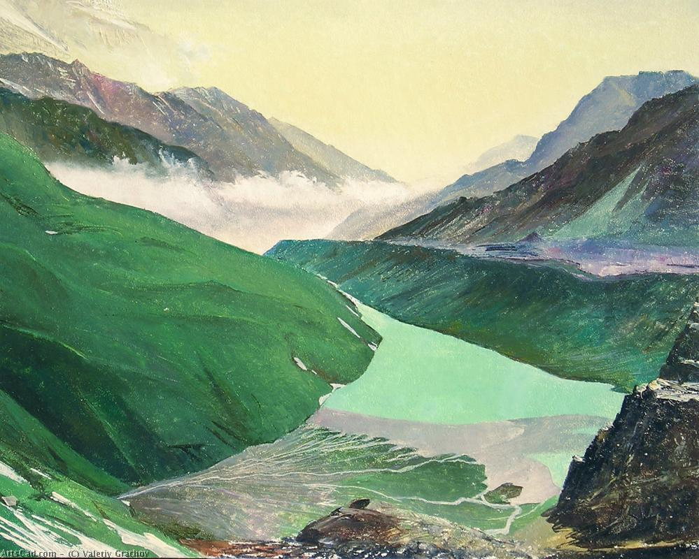 Artwork >> Valeriy Grachov >> Highland lake
