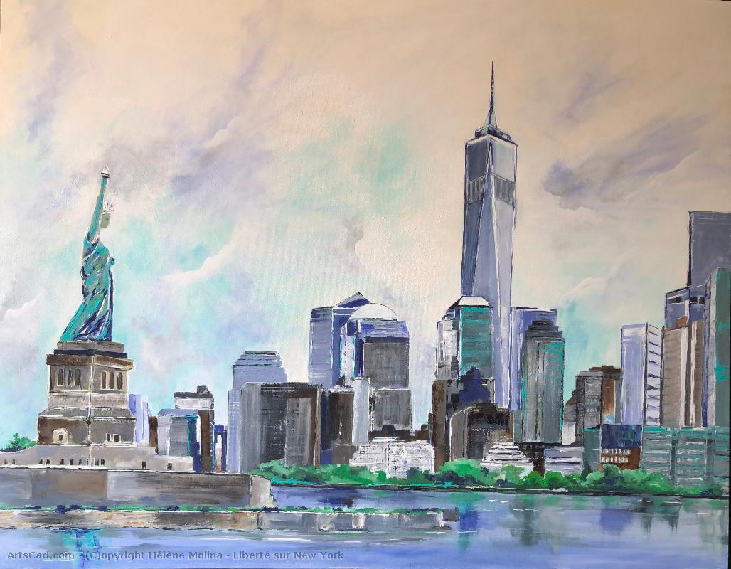 Artwork >> Hélène Molina >> freedom out of  NYC