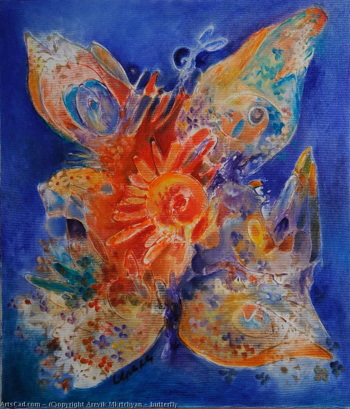 Artwork >> Arevik Mkrtchyan >> butterfly