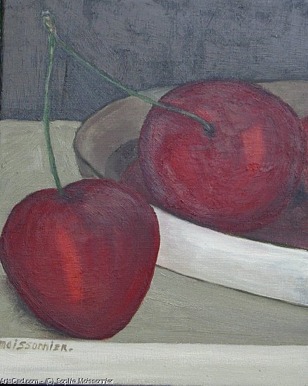 Artwork >> Sophie Moissonnier >> two cherries