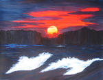 Srinivasan Seshadri - Sunset on Sea