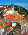 Pol.Magis - red roofs of roquebrune