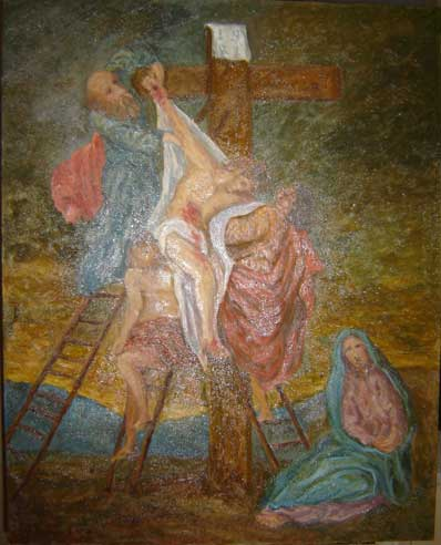 Artwork >> Patrick Sponem >> Descent from the Cross