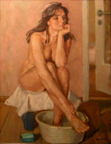 Artwork >> Tadeusz Iwańczuk >> A moment of reflection