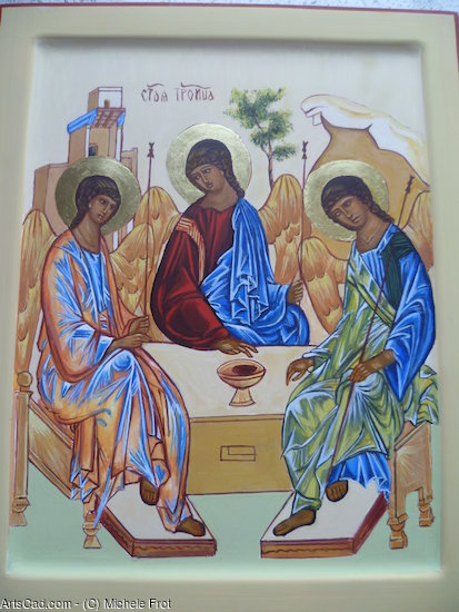 Artwork >> Michele Frot >> Icon The Holy Trinity
