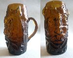 Bust Glass - Beer glass mug like a barbaric head ( I found my old craftwork )