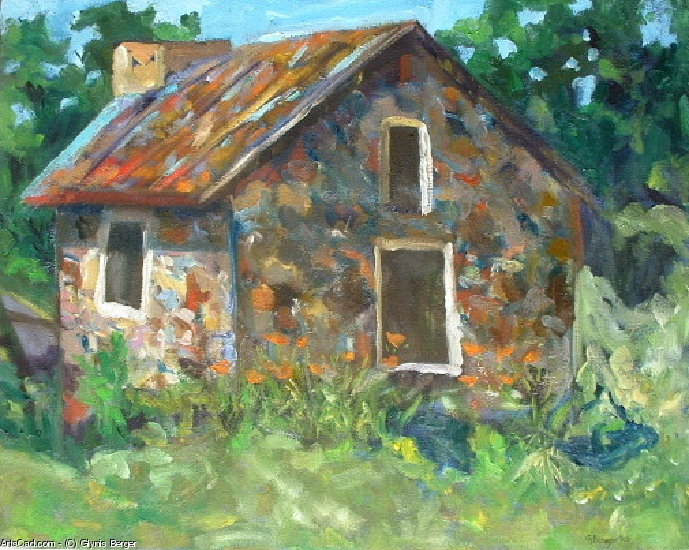 Artwork >> Glynis Berger >> Hot Tin Roof