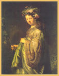Classical Indian Art Gallery - By - Rembrandt - Print