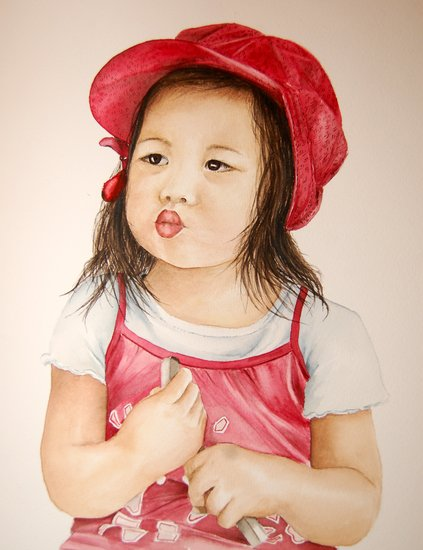 Artwork >> Marie-Claire Houmeau >> The little 'Strawberry'