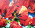 Jaune Indigo - STIRRINGS OF COQUELICOTS - SOLD