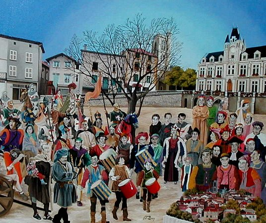 Artwork >> Jean Claude Buisson >> Came from the family Pm . . . . . into st Galmier ( 42 )