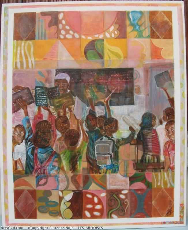 Artwork >> Florence Ndje >> The Slates