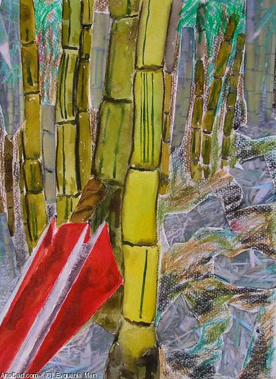 Artwork >> Evguenia Men >> bamboo forest