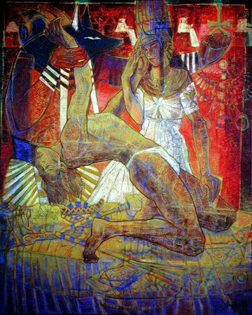 Artwork >> Aimé Venel >> isis and osiris