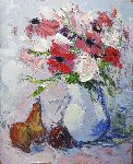Pierre Vanmansart - a few flowers that
