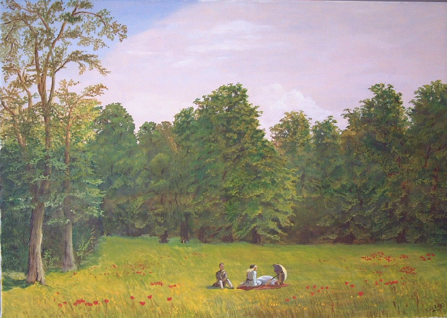 Artwork >> Till Dehrmann >> The Picnic