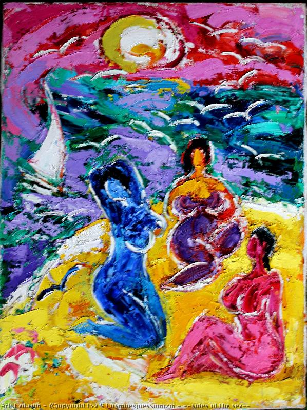 Artwork >> Eva S Cosmoexpressionizm >> ,,sides of the sea''