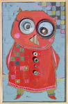 Catherine Suchocka - lady owl  SOLD.